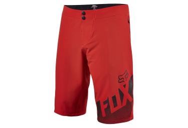 Short de Sport FOX ALTITUDE Rouge