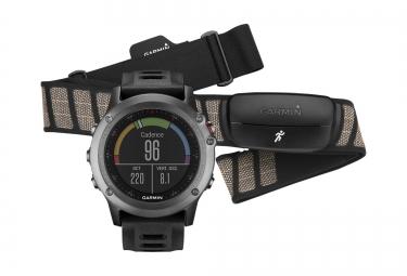 GARMIN Montre GPS FENIX 3 Gray Performer HRM
