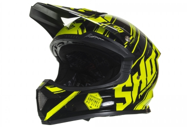 Casco Integral Shot Furious Genesis Noir / Jaune