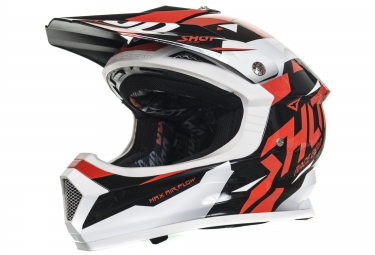 casque integral enfant shot furious splinter rouge s 49 50 cm