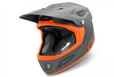 casque integral giro disciple mips gris orange s 51 55 cm