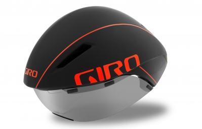Casco Aéro GIRO AEROHEAD MIPS Negro Naranja