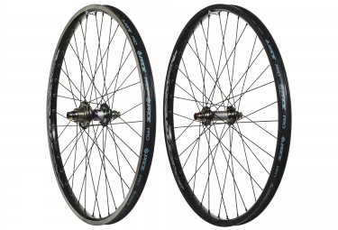 paire de roues cruiser pride racing rival pro sx 24 oil slick