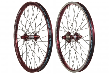 PRIDE RACING RIVAL PRO SX 20´´ Wheelset Red
