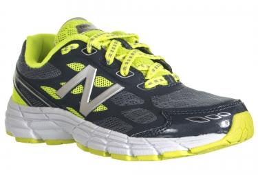 new balance chaussures enfant kj 880 gris jaune 30