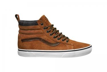 chaussures vans sk8 hi mte marron 40 1 2