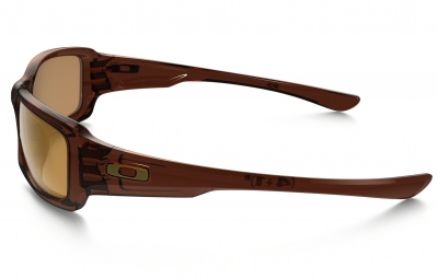 lunettes oakley fives squared marron marron polarise ref oo9238 08