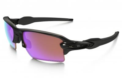 lunettes oakley flak 2 0 xl noir violet prizm golf ref oo9188 05