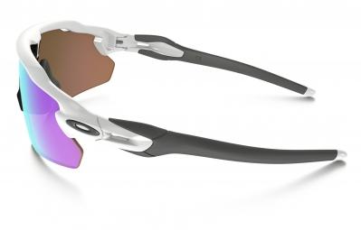 lunettes oakley radar ev pitch blanc violet prizm golf ref oo9211 05