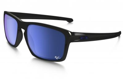Lunettes OAKLEY SLIVER MOTO GP Noir - Bleu Iridium Réf OO9262-28