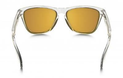 Lunettes Oakley FROGSKINS CRYSTAL COLLECTION clear yellow