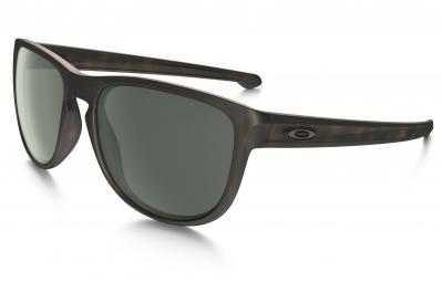 lunettes oakley sliver round marron gris ref oo9342 04