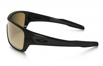 lunettes oakley turbine rotor noir marron iridium polarise ref oo9307 06