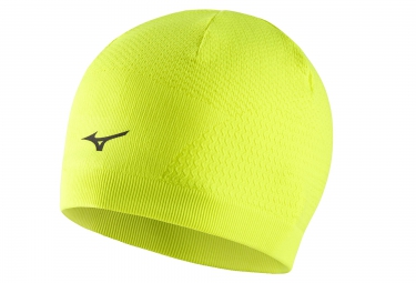 bonnet mizuno breath thermo jaune