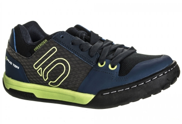 chaussures vtt five ten freerider contact junior bleu vert 37
