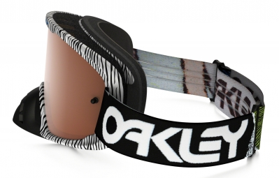 Masque Oakley O2 MX FINGERPRINT black white