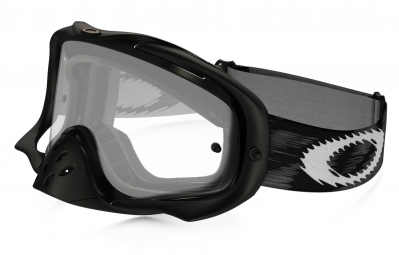 masque oakley crowbar mx noir transparent ref 59 456