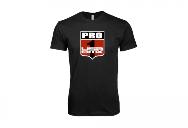 t shirt usa bmx pro 1 shield noir m