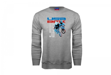 Sweat usa bmx riders gris m