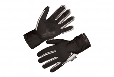 Endura Winter Gloves Windproof Deluge II Black