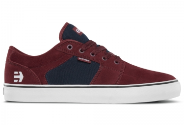 paire de chaussures bmx etnies barge ls rouge bleu 44