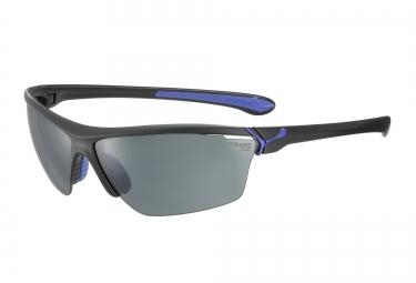 CEBE Paire de lunettes CINETIK Noir Mat Bleu 1500 Gris