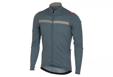 Maillot Manches Longues CASTELLI COSTANTE Gris