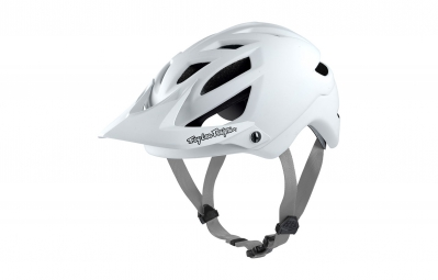 casque troy lee designs a1 drone 2016 blanc xl xxl 60 62 cm