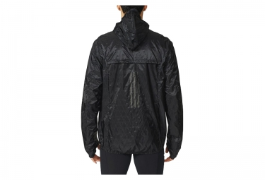 veste coupe vent deperlant adidas kanoi transparent noir m