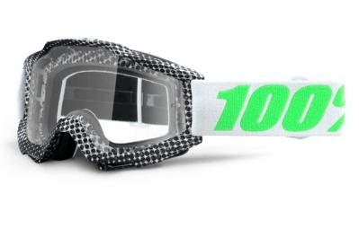 100 masque accuri newsworthy noir ecran iridium vert adulte