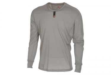 sous maillot castelli procaccini wool gris s