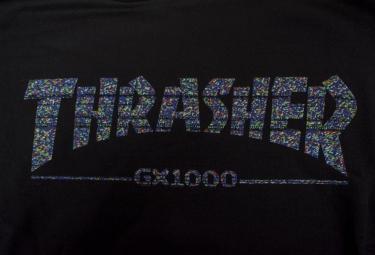Sweat à Capuche THRASHER GX 1000 Noir