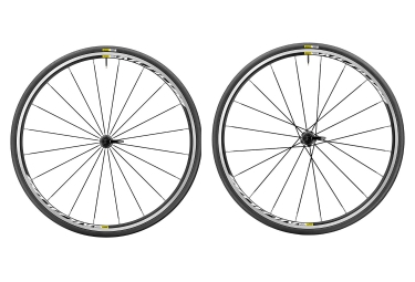 Paire de roue mavic 2017 aksium elite shimano sram yksion elite 25mm