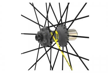 paires de roues mavic crossmax pro wts 29 boost 15x110 mm 12x148 mm corps shimano pn