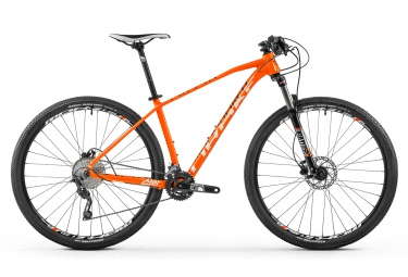 vtt semi rigide mondraker 2017 leader 29 shimano deore 10v orange l 175 188 cm