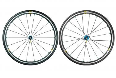 paire de roues mavic 2017 ksyrium elite bleu sram shimano yksion pro 25mm