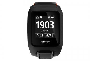 Montre GPS Tomtom ADVENTURER CARDIO + MUSIC Bracelet Large Noir