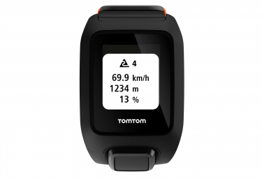 montre gps outdoor tomtom adventurer cardio music noir