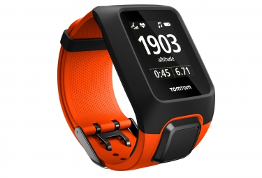 Montre gps multisport tomtom adventurer cardio music orange