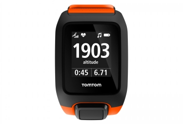 Montre GPS OUTDOOR TOMTOM ADVENTURER CARDIO + MUSIC Orange