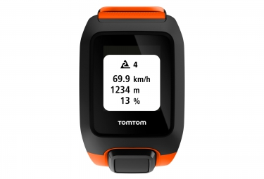 montre gps outdoor tomtom adventurer cardio music orange
