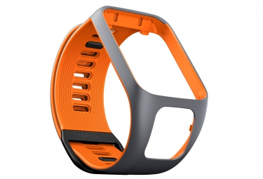 Bracelet de rechange TOMTOM RUNNER 3 Taille Fin Gris Orange