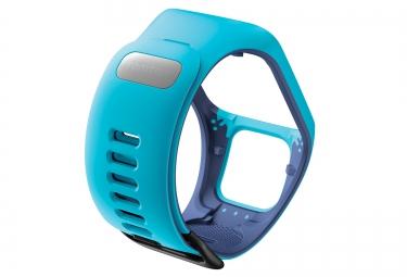 Bracelet de rechange TOMTOM RUNNER 3 Taille Fin Bleu