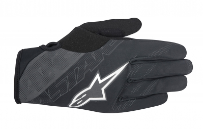 gants hiver alpinestars stratus noir gris xl