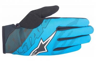 gants hiver alpinestars stratus bleu noir s