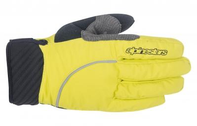 gants hiver alpinestars nimbus jaune s