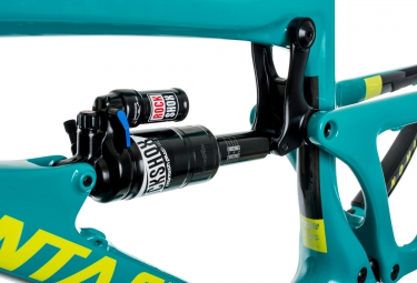 Kit Cadre SANTA CRUZ Nomad 3 Carbon Bleu/Jaune L + Fourche ROCKSHOX Lyrik RCT3 Solo Air 180 27.5´´ BOOST