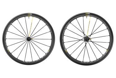 Paire de roues Mavic Ksyrium Pro Exalith - Shimano/Sram - Yksion Pro 25mm