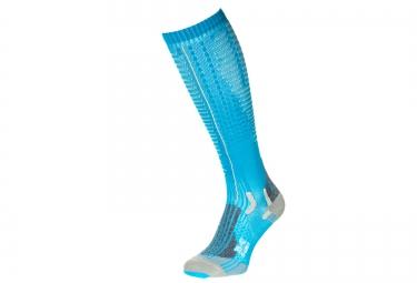 Paire de chaussettes de Compression Femme X-BIONIC EFFEKTOR COMPETITION Bleu