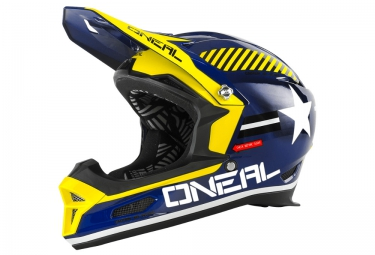 casque integral oneal fury rl afterburner bleu xl 61 62 cm